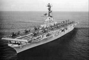 FRAM II aircraft carrier
